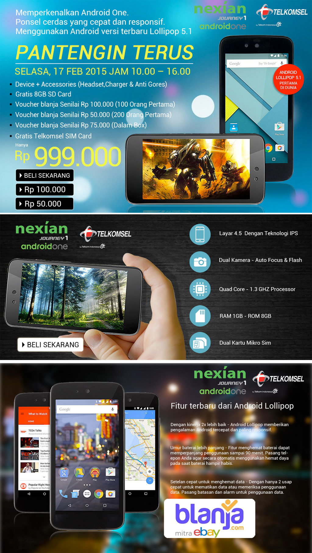 produk official website nexian indonesia